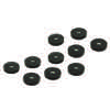 10AIMANTS31X6/M5/N-Lot de 10 aimants Ø31 mm x 6 mm - perçage M5 - force 7,5 kg NOIR