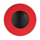 2012-R-Oeilleton BLUESTAR peau de chamois rond medium ''LARGE ROUND'' - ROUGE