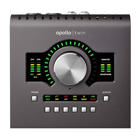 Interface Thunderbolt Apollo Twin MK2 Duo Processing Universal Audio