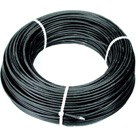 CABLE2N-50M-Câble acier gainé noir dit aviation Ø 2 mm - 50 m - Rupture 254 daN