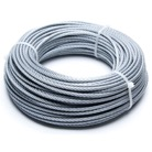 CABLE3-50M-Câble acier galvanisé dit aviation Ø 3 mm - 50 m - Rupture 450 daN