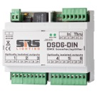 DSD6-DIN-Splitter booster DMX 1 entrée 6 sorties sur rail DIN SRS Lighting