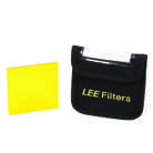 FILTRE-DEEPYELLOW-Filtre LEE FILTERS pour N&B ''No 12 Deep Yellow'' - Dim. : 100x100mm