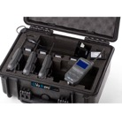 VOKKERO/SET4 - Kit INTERCOM HF complet 4 postes (clips ceintures,batteries,chargeur,