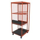 WENTEX-TROLLEY2-Chariot trolley pour système WENTEX Pipe and Drape pour embase lourde